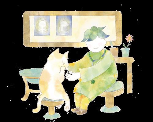 ネコに関わる仕事、獣医師