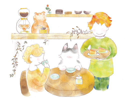 ネコに関わる仕事、ネコカフェ(経営者)