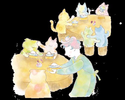 ネコに関わる仕事、動物愛護保護施設(報酬ありスタッフ)