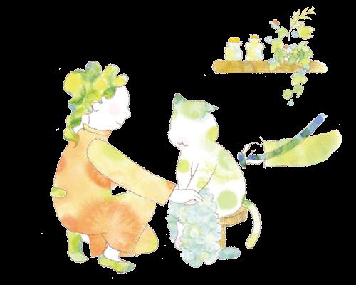 ネコに関わる仕事、動物看護師