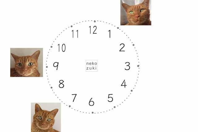 ちゃっくんの目時計