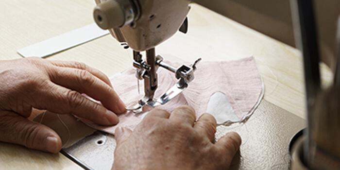 日本の高い縫製技術