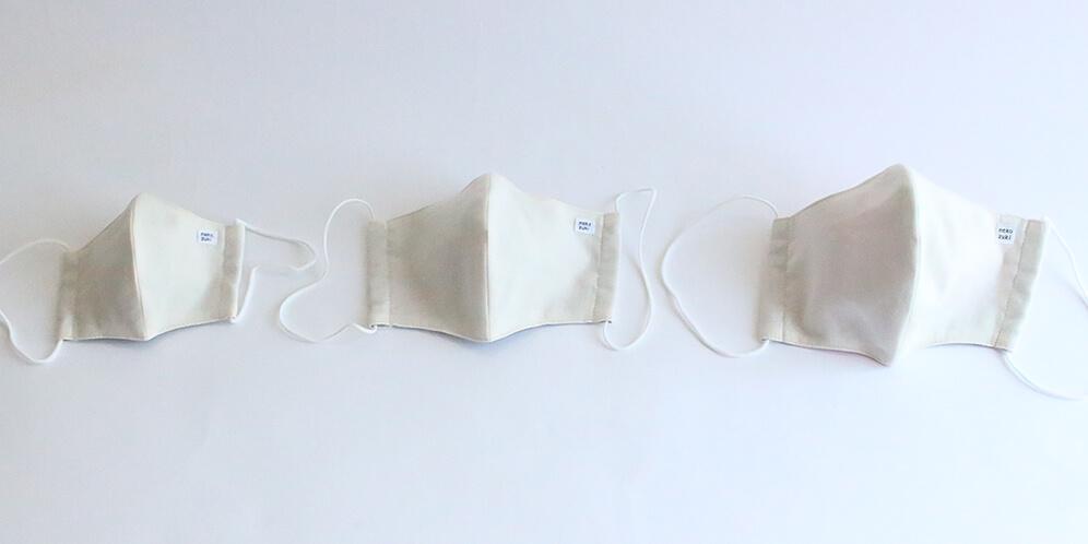 立体縫製マスクの子供用・大人用