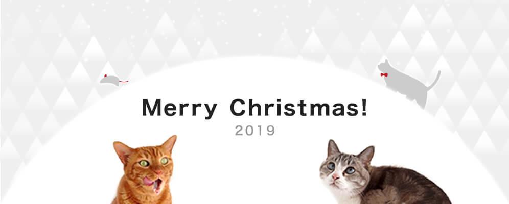 猫用品専門店nekozukiのクリスマス2019