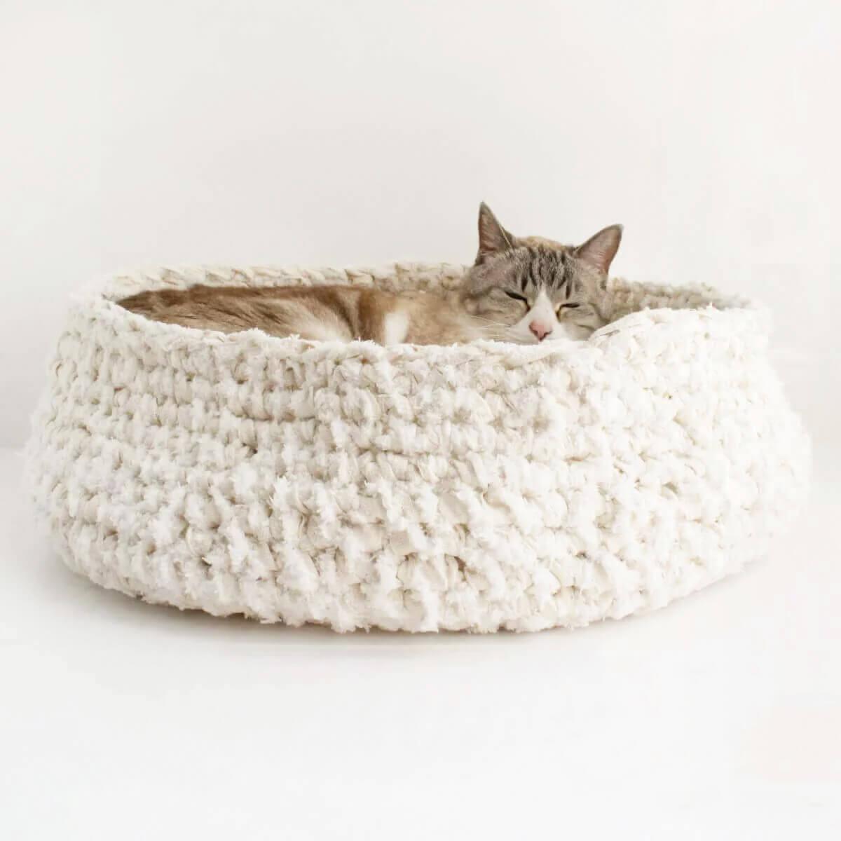 猫用あみあみベッド