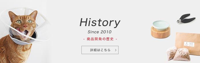 History Since2010 商品開発の歴史